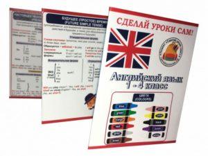 буклет 1-4 класс английский язык